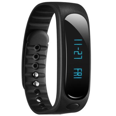 天诺思 E02 智能蓝牙手环运动手环计步器 健康监测 黑色产品图片1