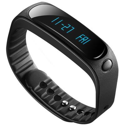 天诺思 E02 智能蓝牙手环运动手环计步器 健康监测 黑色产品图片2