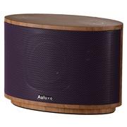 欧乐司 AW1010 Wood 木质无线蓝牙立体声音箱 高端触控式多媒体低音炮音响 紫色