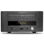 山灵  韵律 EC2C HIFI发烧CD机 USB声卡 耳放迷你桌面音响 CD转盘 黑色