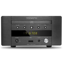 山灵  韵律 EC2C HIFI发烧CD机 USB声卡 耳放迷你桌面音响 CD转盘 黑色产品图片主图