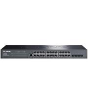 TP-LINK TL-SG3428 24口千兆+4个千兆光纤口 全千兆网管型核心交换机