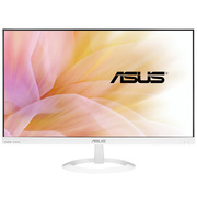 华硕 VX24AH-W 23.8英寸高清2K IPS屏 游戏滤蓝光不闪屏显示器