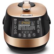 美的 PSS5050XL 电压力锅5l 双胆高压锅 不锈钢内胆 电脑版压力锅
