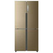 海尔 BCD-458WDVMU1 458升变频风冷无霜多门冰箱 干湿分储五区保鲜  (手机APP控制)香槟金