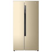 海尔 BCD-642WDVMU1 642升变频风冷无霜对开门智能WIFI 人工智慧 (智能APP手机控制)香槟金色