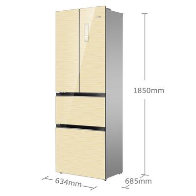 奥马 BCD-301WFDA 301升 风冷无霜 法式多门冰箱(香槟金)产品图片2