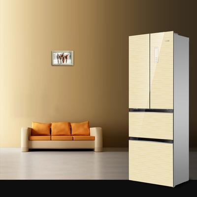 奥马 BCD-301WFDA 301升 风冷无霜 法式多门冰箱(香槟金)产品图片3