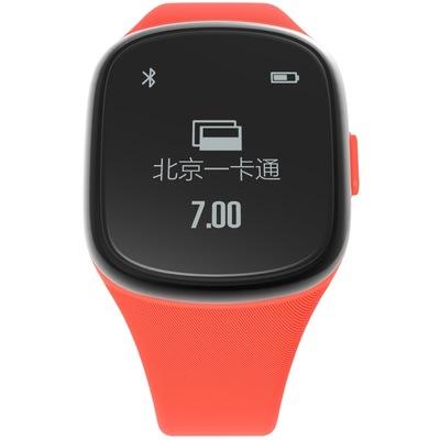 拉卡拉 手环 智能手表ME19 刷公交地铁(北京) NFC银联闪付 来电提醒 计步睡眠 玛瑙红产品图片4