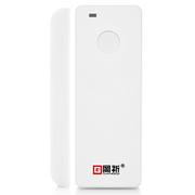 岡祈 GQ-ZNMC 无线WIFI智能门磁防盗报警器 可充电家用店铺门窗手机报警器 远程电话提醒器