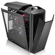 酷冷至尊 MasterCase Maker 5 模组化机箱(灯光控制器/3组智能风扇/红色灯条/磁吸式面板)黑色