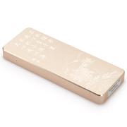 金胜 T1系列 128G便携式固态移动硬盘文化系列之荀子 金色 (KS-T1128GB)