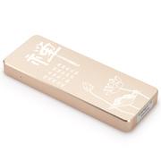 金胜 T1系列 256G便携式固态移动硬盘文化系列之禅 金色 (KS-T1256GC)