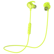 QCY QY19 魅影 运动蓝牙耳机 无线耳麦 立体声音乐蓝牙耳机 迷你智能4.1 苹果小米通用 绿色
