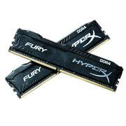 金士顿 骇客神条 Fury系列 DDR4 2666 16GB(8Gx2条)台式机内存