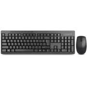 多彩 K6300+138无线键鼠套装 黑色