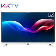 KKTV K32C 32英寸窄边高清节能护眼液晶平板电视(黑+银)