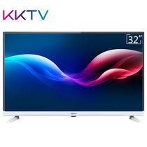 KKTV K32C 32英寸窄边高清节能护眼液晶平板电视(黑+银)产品图片主图