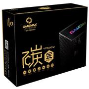 GAMEMAX 碳金VP500W 呼吸灯电源(主动式PFC/14CM静音风扇/智能温控/台式机电源)