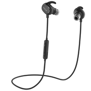 QCY QY19 魅影 运动蓝牙耳机 无线耳麦 立体声音乐蓝牙耳机 迷你智能4.1 苹果小米通用 黑色