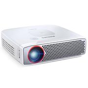 飞利浦 PPX4835 商务家庭娱乐 LED便携式微型投影仪