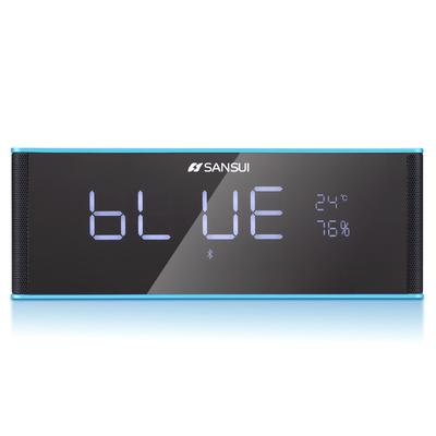 山水 T20 无线蓝牙音箱 插卡收音时钟闹钟产品图片3