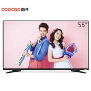 酷开 KX55 55英寸4K超高清智能液晶平板电视 系统WiFi(黑色)