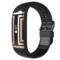 爱国者 W01福寿手环老人智能手环 来电提醒 心率睡眠监测 运动手环计步防水跌倒提醒微信互联 黑色产品图片3