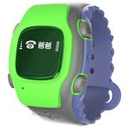 吧吧咪呀(babamiya) 儿童智能电话手表 爱护小天才360度保护 手机GPS定位 安全防丢失防水 儿童手表 脉冲绿