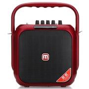 万利达 C5M+9002 户外广场舞晨练插卡便携电瓶蓝牙拉杆音箱 玫瑰红