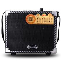 新科 S3 便携式广场舞音箱插卡户外音响 FM收音机迷你音响扩音器(黑色)产品图片主图