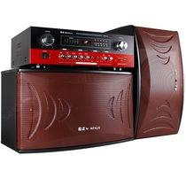 金正 SM-975 家庭KTV音响套装专业舞台会议卡拉ok卡包音箱 (黑色)产品图片主图
