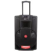 万利达 J15 M+9022 专业户外移动音箱 黑色