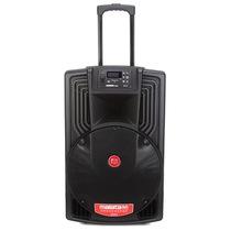 万利达 J15 M+9022 专业户外移动音箱 黑色产品图片主图