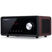 现代 HY-20 智能家居音箱 APP操控 蓝牙4.0、FM收音功能  时间显示、闹钟、通话功能 摩卡棕