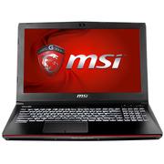 微星 GE62 6QC-490XCN 15.6英寸游戏笔记本电脑 (i7-6700HQ 8G 1T+128GSSD GTX960M 背光键盘) 黑色