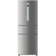 夏普 BCD-263WB-S 263L 变频 三门无霜风冷冰箱 净离子杀菌净化 纳米低温除臭触媒 新复式气流 银