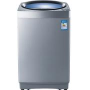 夏普 XQB80-2705L-S 8KG 全自动波轮洗衣机 自洁桶 瀑布水流 立体静洗涤(银色)