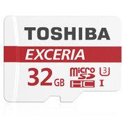 东芝 32GB 90MB/s 极至瞬速 TF(micro SD) 存储卡 UHS-I U3 Class10 高速存储卡 支持4K拍摄