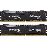 金士顿 骇客神条 Savage系列 DDR4 3000 16GB(8GBx2)台式机内存