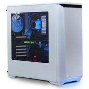 追风者 PK(H)416PSW 白色ATX静音水冷侧透机箱 (全金属/RGB饰灯控\支持360水冷\带2风扇配调速器)