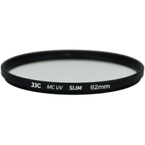 JJC F-MCUV62 62mm  MC UV UV镜 超薄 多层镀膜滤镜 超轻薄镜框 无暗角可加装镜头盖产品图片主图