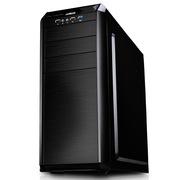 迎广 G7 中塔ATX 机箱(USB3.0 *1 ,USB2.0*2,顶置SATA 接口,自帶1个12cm风扇)黑色