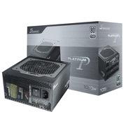 海韵 额定1050W P1050电源(80Plus白金牌/全模组/三段智能温控设计/支持走背板线)