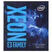 英特尔 至强处理器E3-1220 v5 (LGA1151/3.00GHz/8M/80W/14nm)