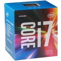 英特尔  酷睿i7-6700 14纳米 Skylake全新架构盒装CPU处理器 (LGA1151/3.4GHz/8MB三级缓存/65W)产品图片主图