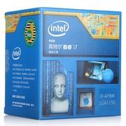 英特尔 酷睿i7-4790k 22纳米 Haswell全新架构盒装CPU处理器(LGA1150/4GHz/8M三级缓存)