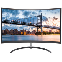 飞利浦 279X6QJSW 27英寸 MVA面板 AMD显示变频 预置HDMI 无闪技术 曲面显示器产品图片主图