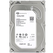 希捷 2TB 7200转 64M SATA 6GB/秒 3.5英寸SSHD混合固态硬盘(ST2000DX001)
