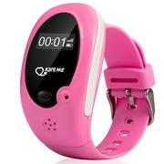 PT02 开咪2代儿童智能手表GPS定位手表手机电话插卡防丢失手环 粉色